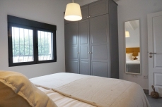 Master bedroom with clothes cabinet