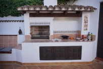CASA NIDO outside kitchen